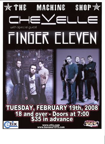 Chevelle Finger Eleven