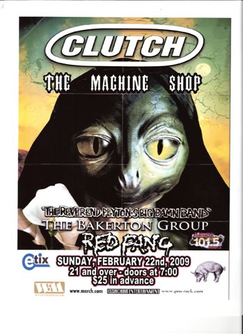 Clutch Red Fang