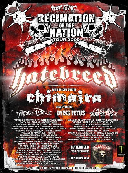 Hatebreed Chimaira