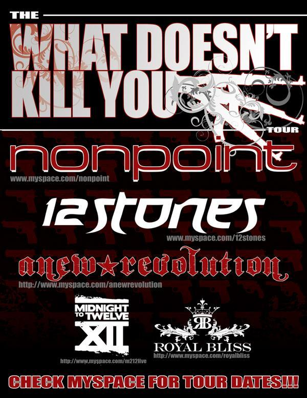 Nonpoint 12 Stones Anew Revolution