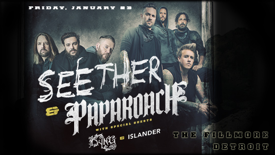 Seether Papa Roach