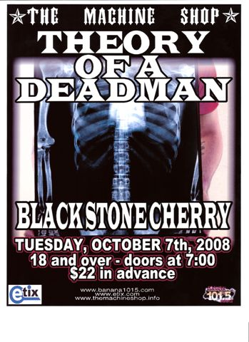 Theory of a Deadman Black Stone Cherry